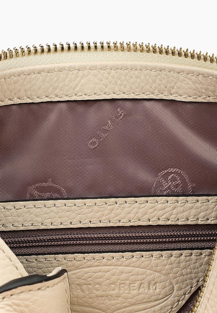 Сумка Fiato Dream 1133 кожа латте  (сумка женская): изображение 3