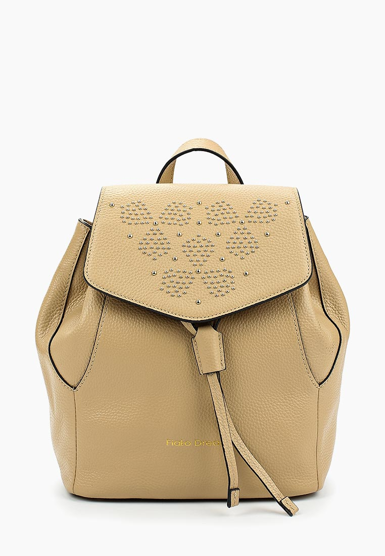 Городской рюкзак Fiato Dream 1136 кожа бежевый  (рюкзак женский)