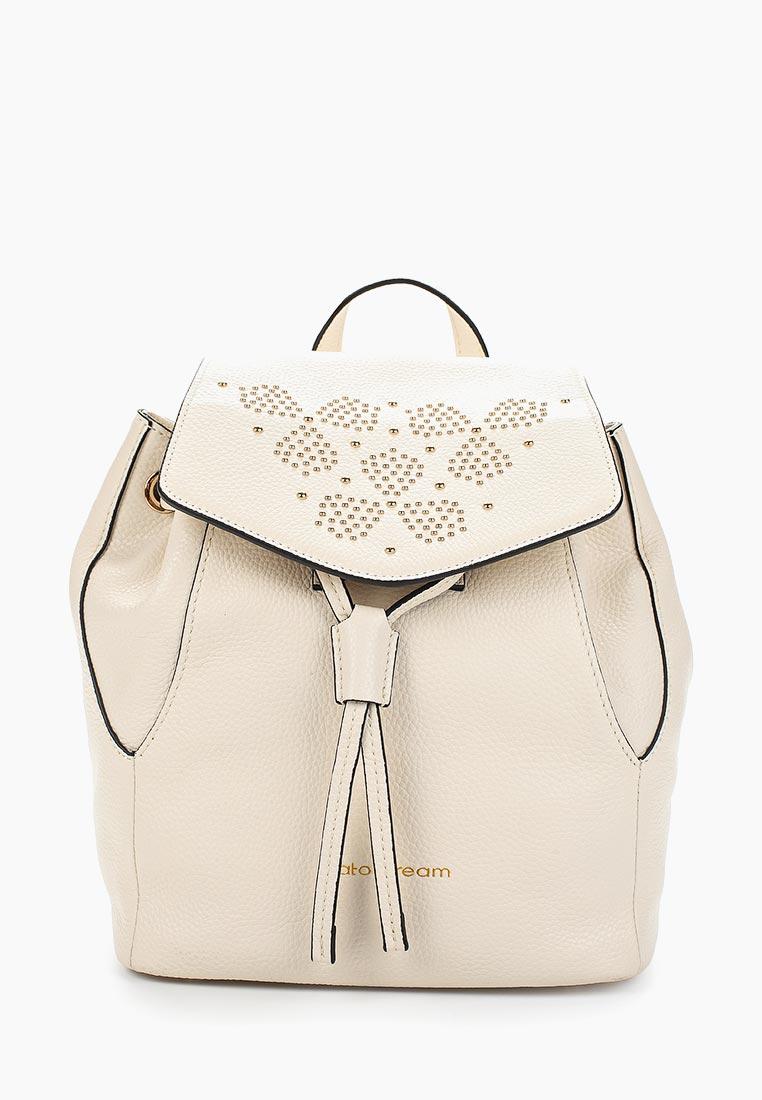 Городской рюкзак Fiato Dream 1136 кожа латте  (рюкзак женский)