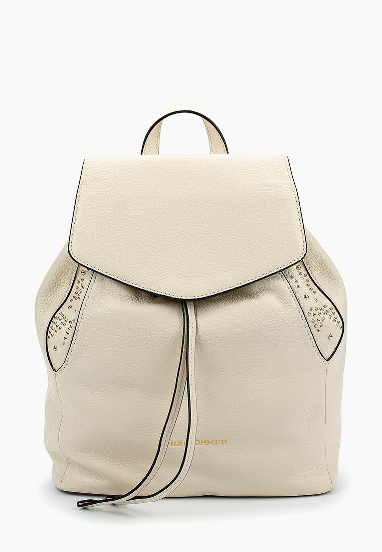 Городской рюкзак Fiato Dream 1137 кожа латте  (рюкзак женский)
