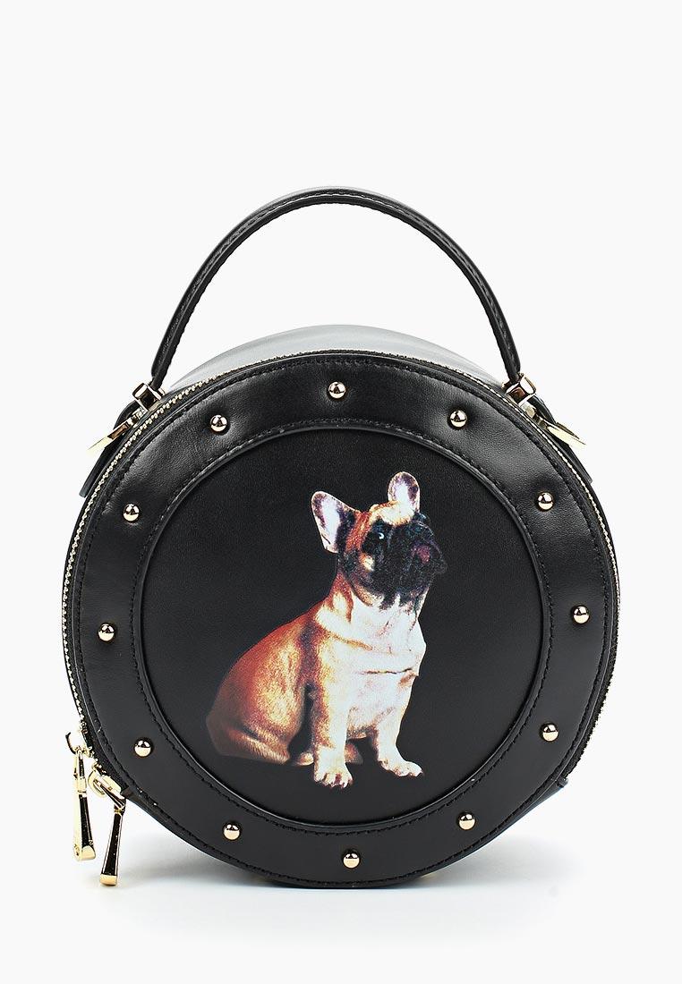 Сумка Fiato Dream 1142 кожа черный  (сумка женская)