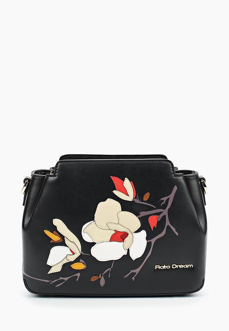 Сумка Fiato Dream 2000 кожа черный  (сумка женская)