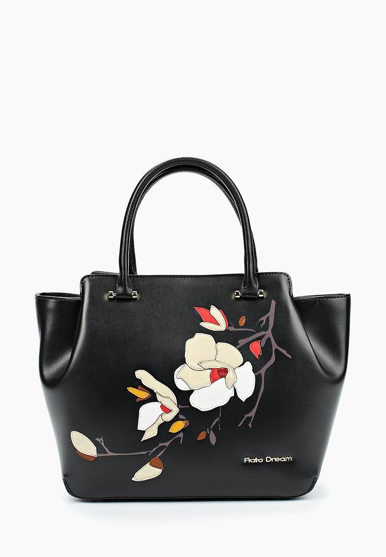 Сумка Fiato Dream 2002 кожа черный  (сумка женская)