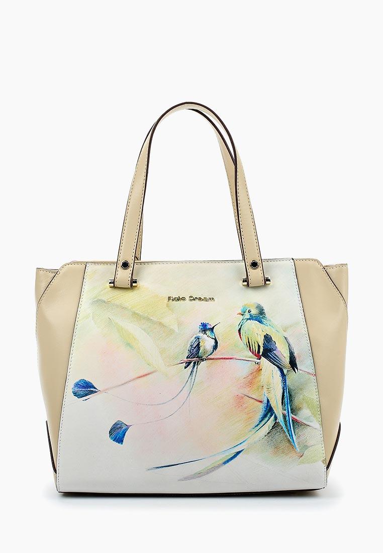 Сумка Fiato Dream 2007 кожа бежевый  (сумка женская)