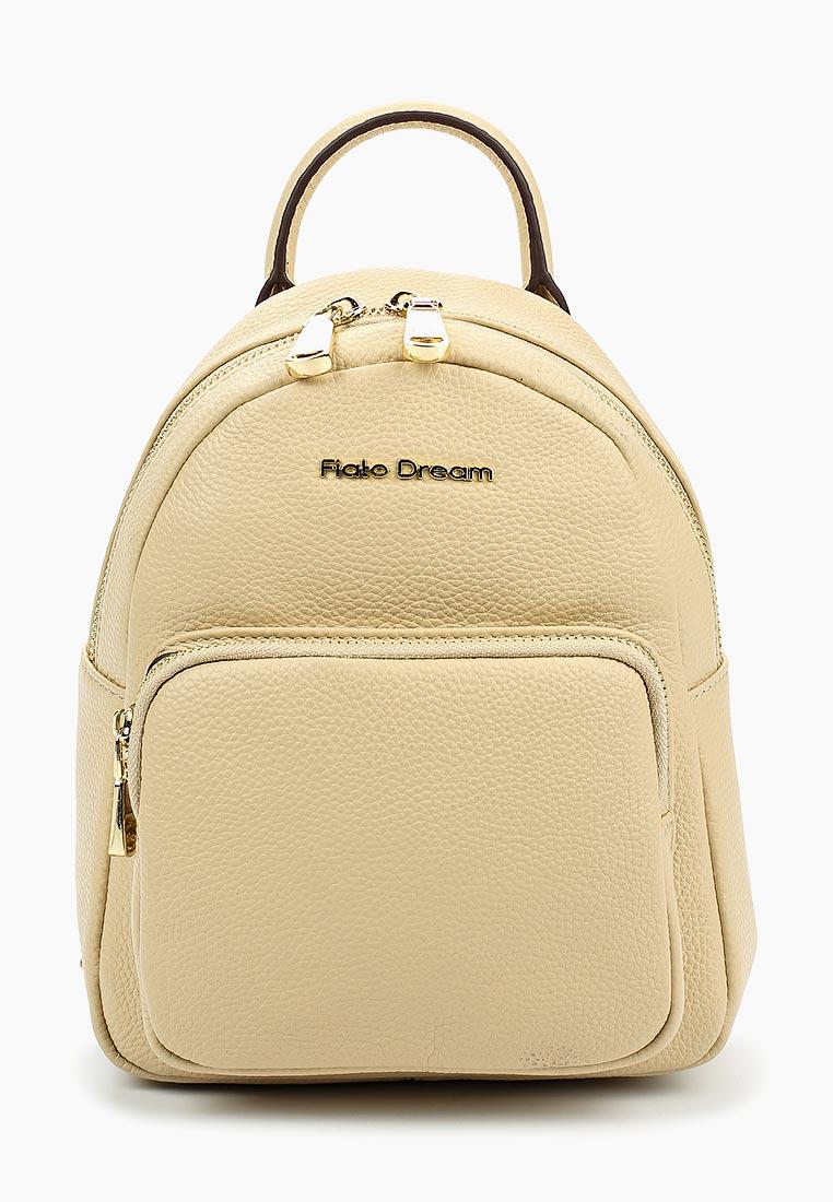 Городской рюкзак Fiato Dream 2011 кожа бежевый  (рюкзак женский)