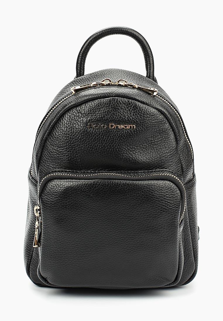 Городской рюкзак Fiato Dream 2011 кожа черный  (рюкзак женский)