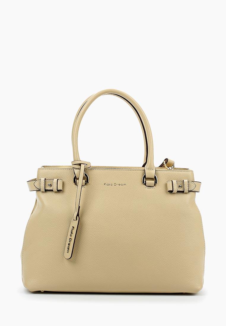 Сумка Fiato Dream 2038 кожа бежевый  (сумка женская)