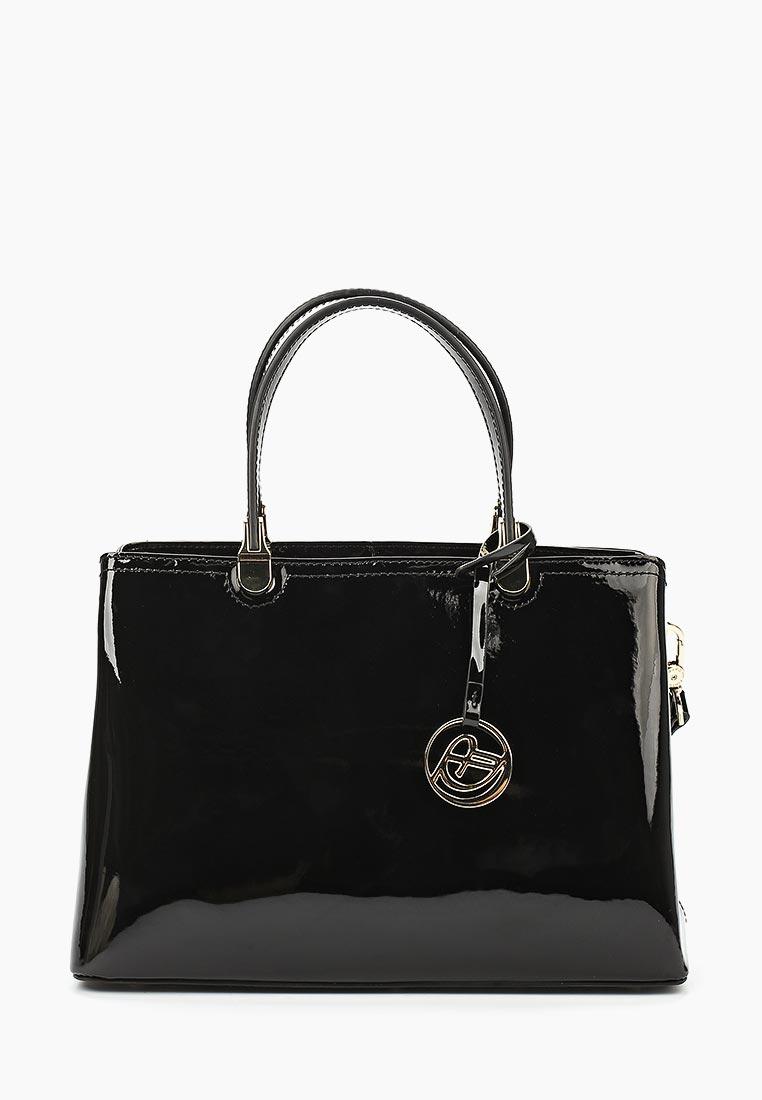 Сумка Fiato Dream 2041 лак черный  (сумка женская)