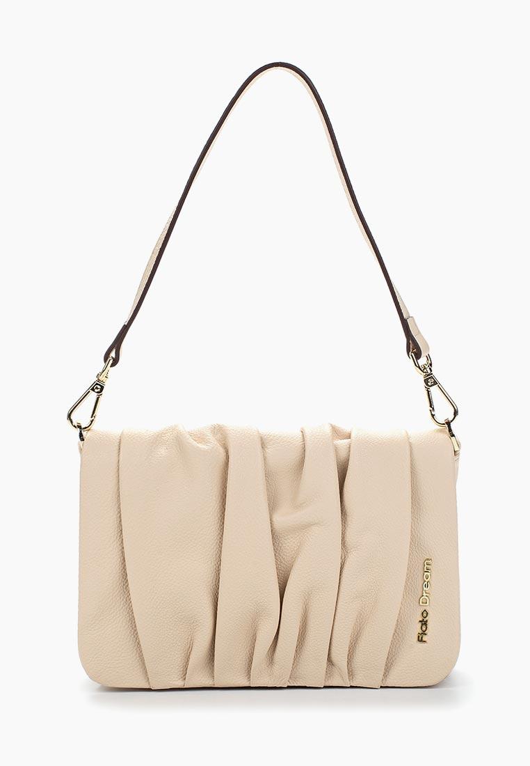 Сумка Fiato Dream 3188 кожа бежевый  (сумка женская)