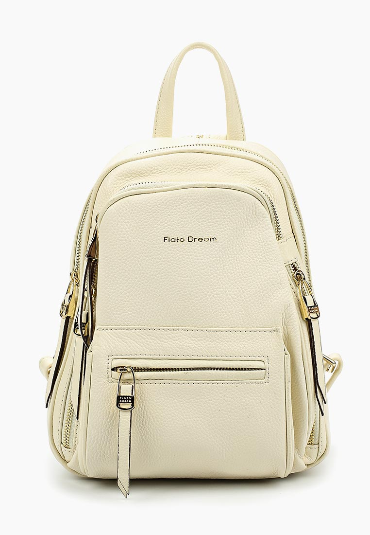 Городской рюкзак Fiato Dream 3854 кожа латте  (рюкзак женский)