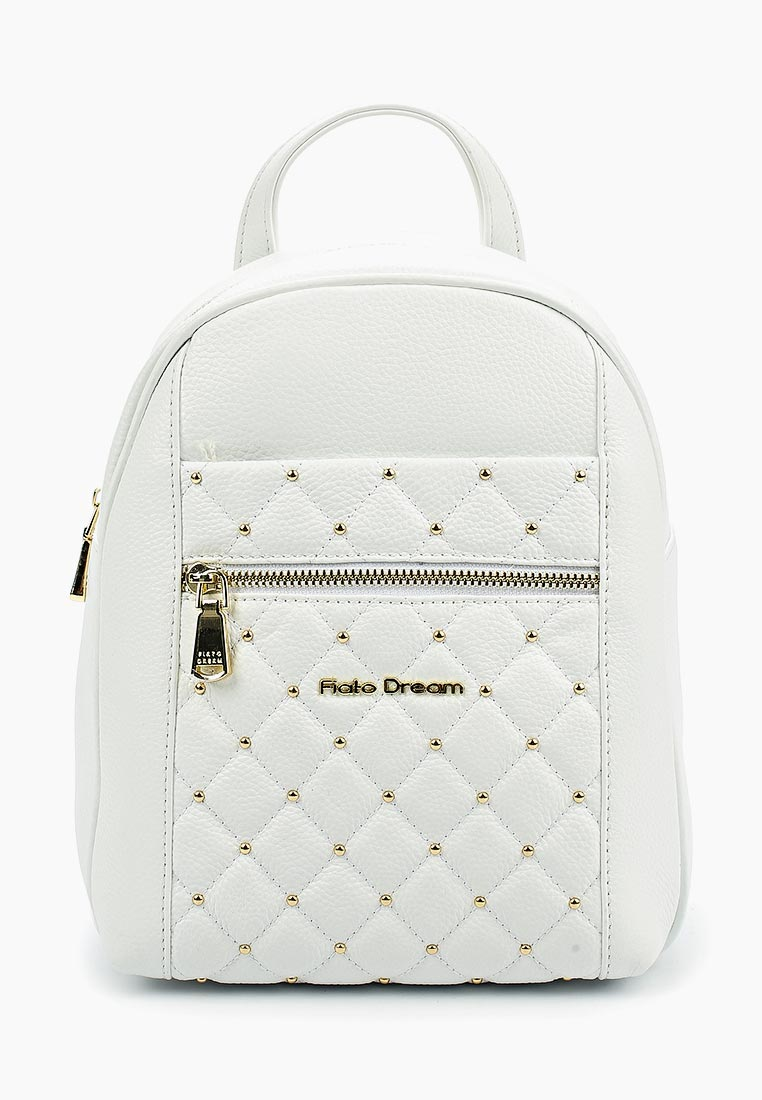 Городской рюкзак Fiato Dream 5213 кожа белый  (рюкзак женский)