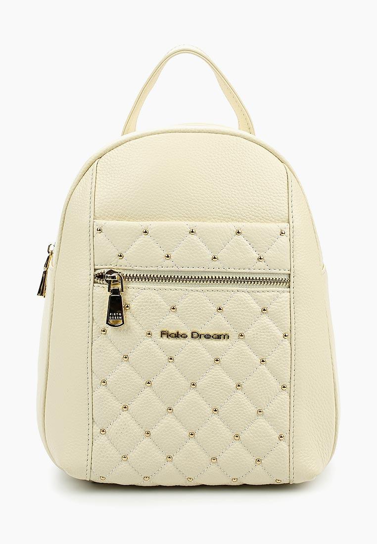 Городской рюкзак Fiato Dream 5213 кожа латте  (рюкзак женский)