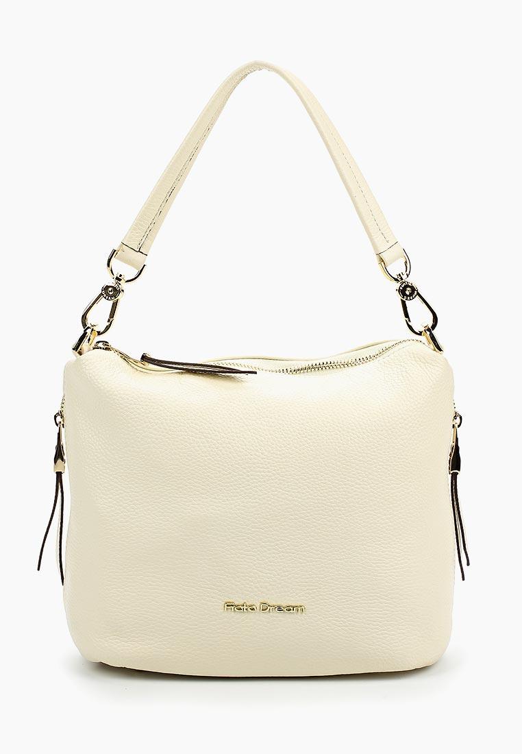 Сумка Fiato Dream 8008 кожа латте  (сумка женская)