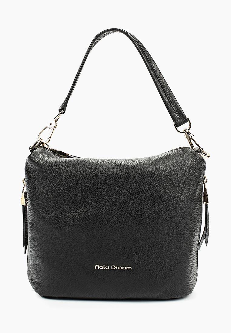 Сумка Fiato Dream 8008 кожа черный  (сумка женская)
