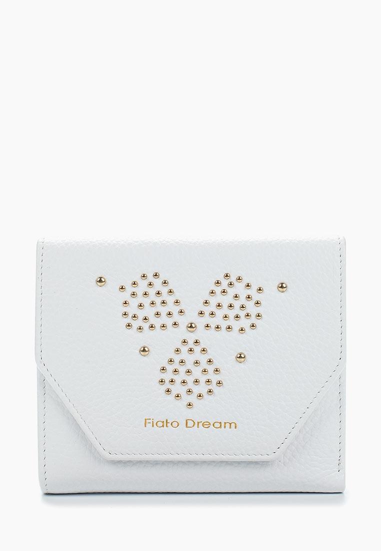 Кошелек Fiato Dream п138 кожа белый  (кошелек женский)