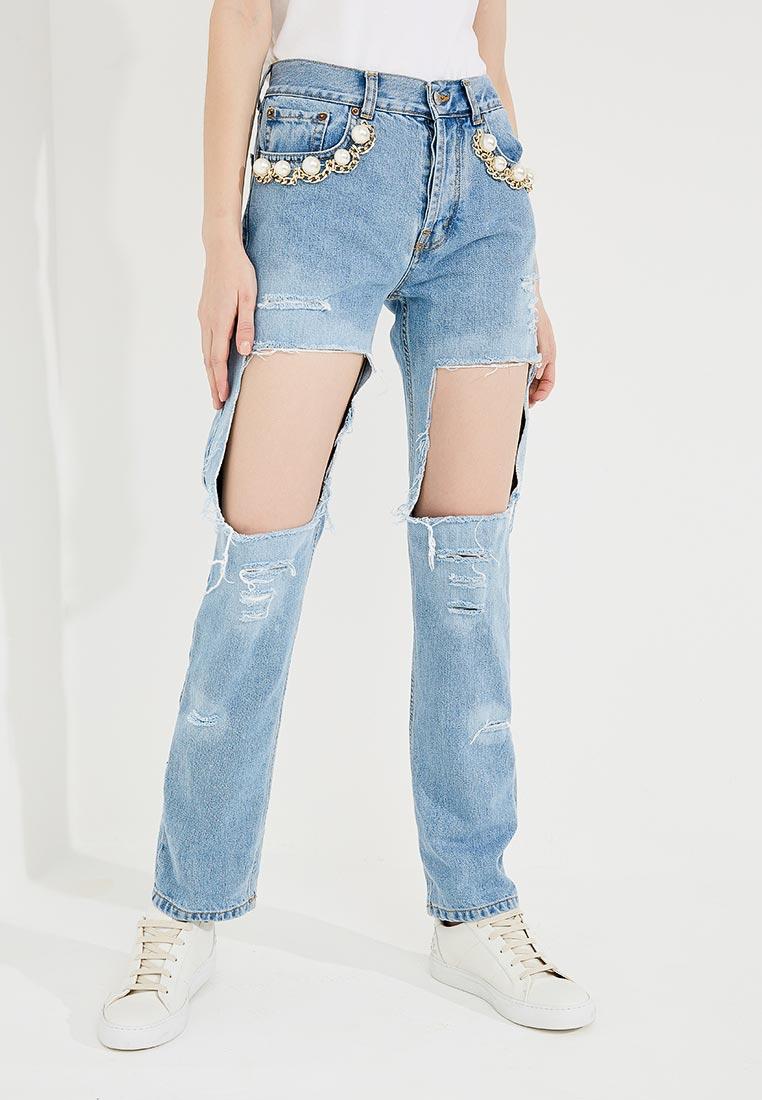 Прямые джинсы Forte Couture FC-SS18-29
