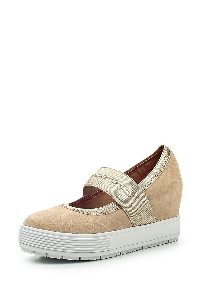 Туфли на плоской подошве Fornarina PE17MJ1004S