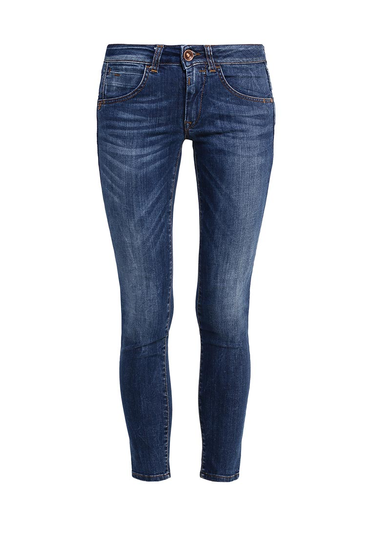 Зауженные джинсы Fornarina BIR1H37D805R74
