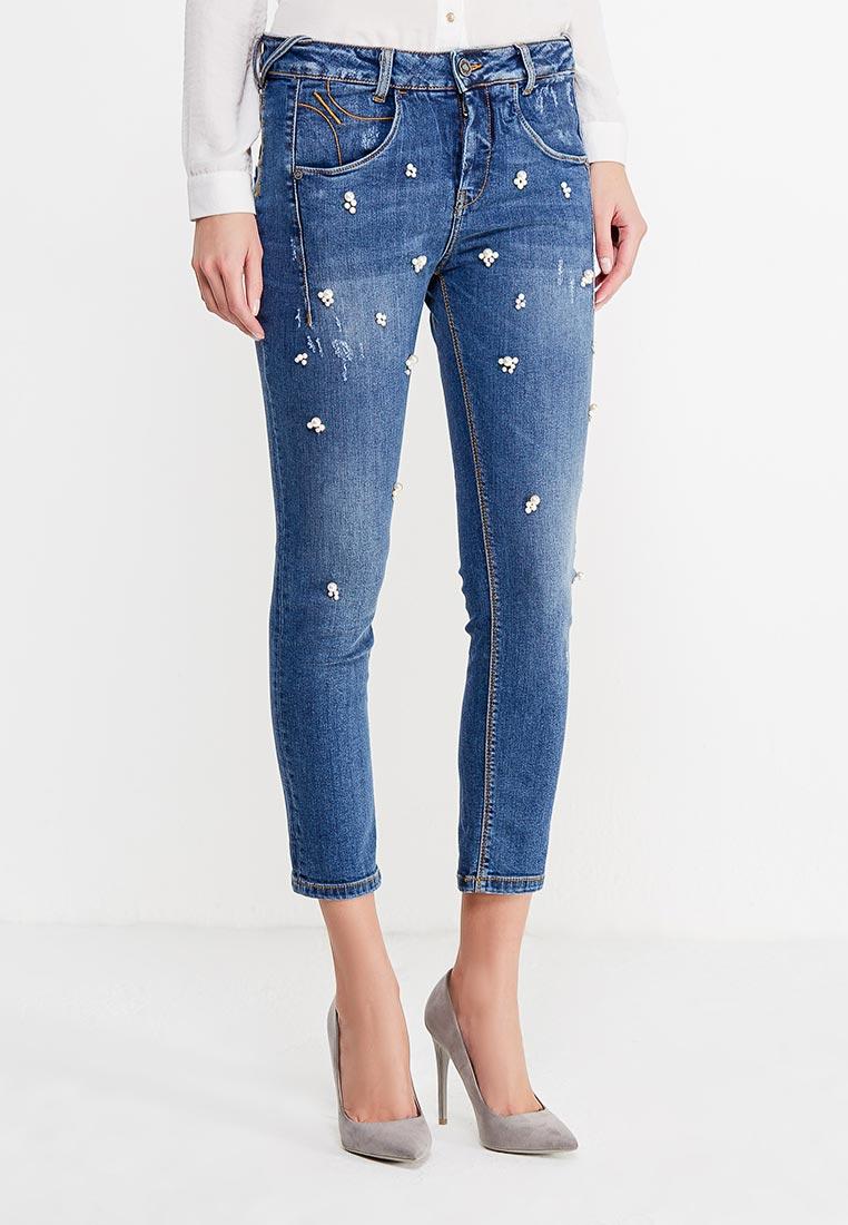 Зауженные джинсы Fornarina BI181M21D894ZR