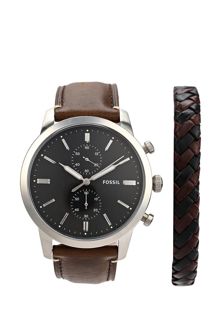Мужские часы Fossil (Фоссил) FS5394SET