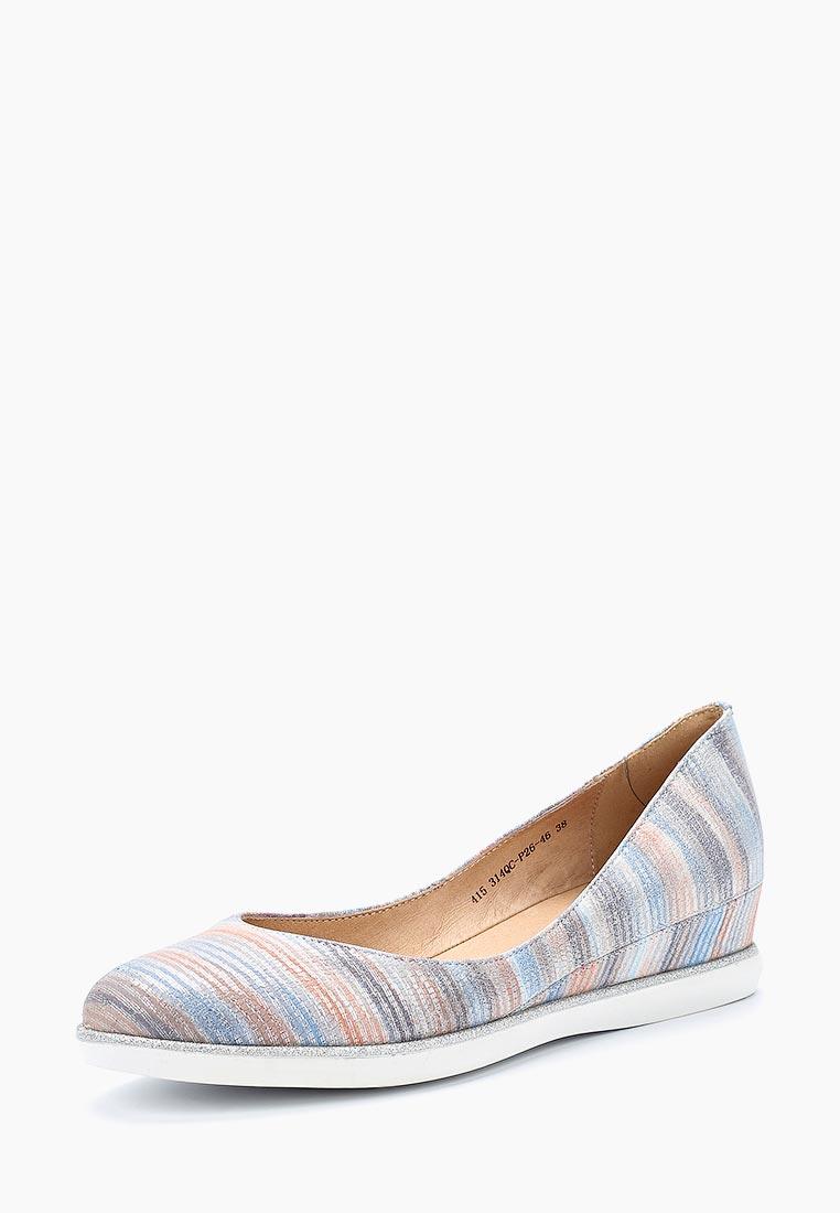 Женские туфли Francesco Donni P415 314QC-P26-46JLM
