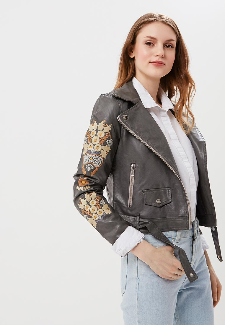 Кожаная куртка Fresh Cotton 1743