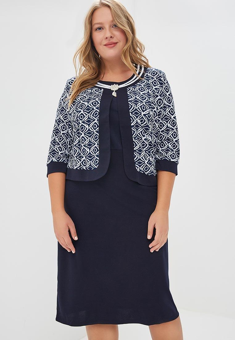 Деловое платье Fresh Cotton 829-1