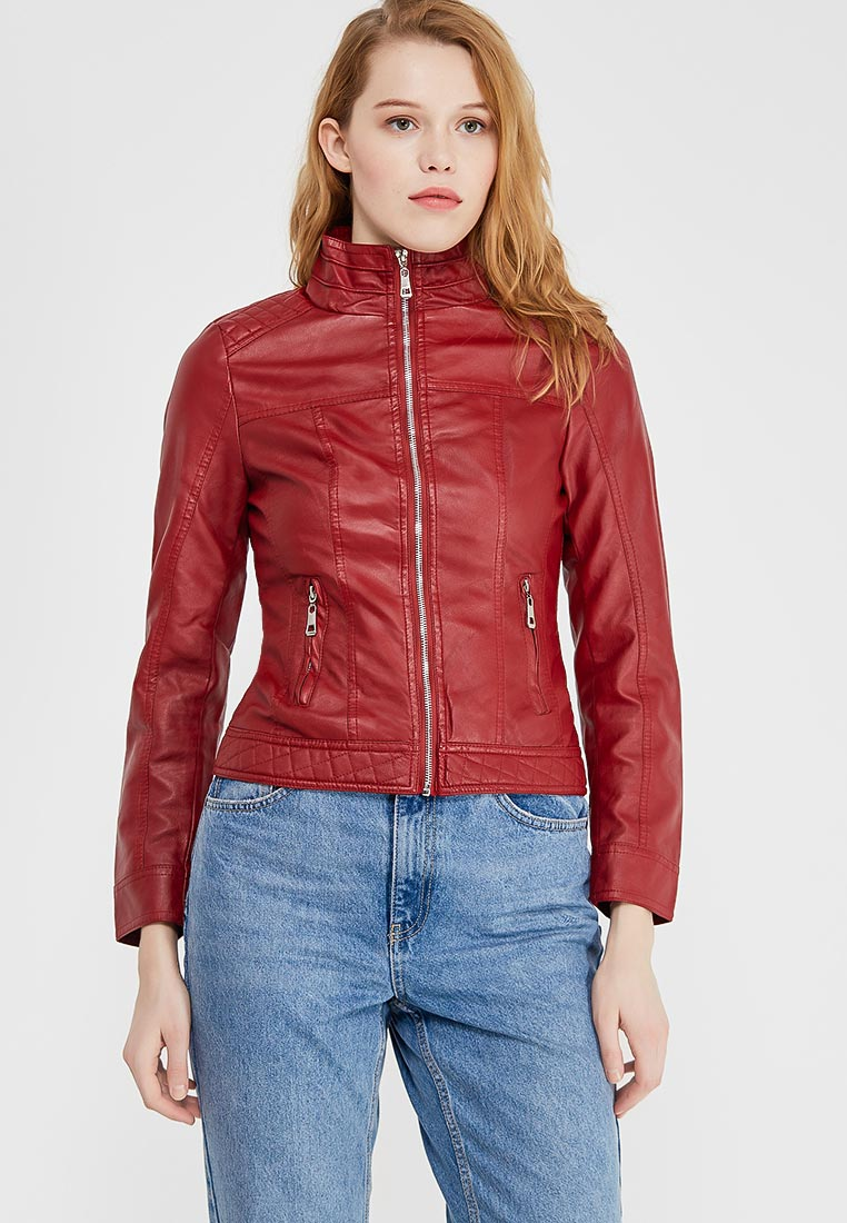 Кожаная куртка Fronthi F911811