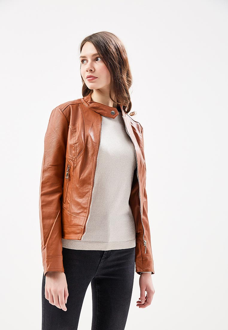 Кожаная куртка Fronthi F911825