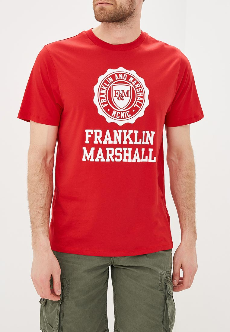 Футболка с коротким рукавом Franklin & Marshall TSMF352AN