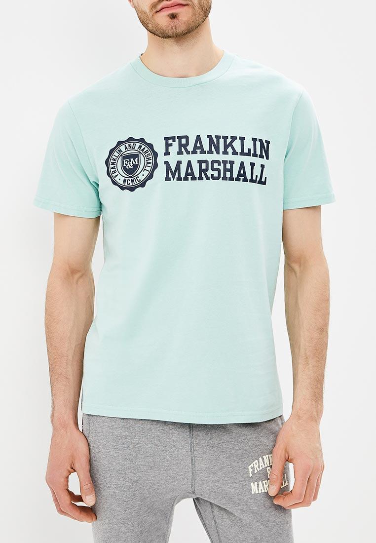 Футболка с коротким рукавом Franklin & Marshall TSMF356AN