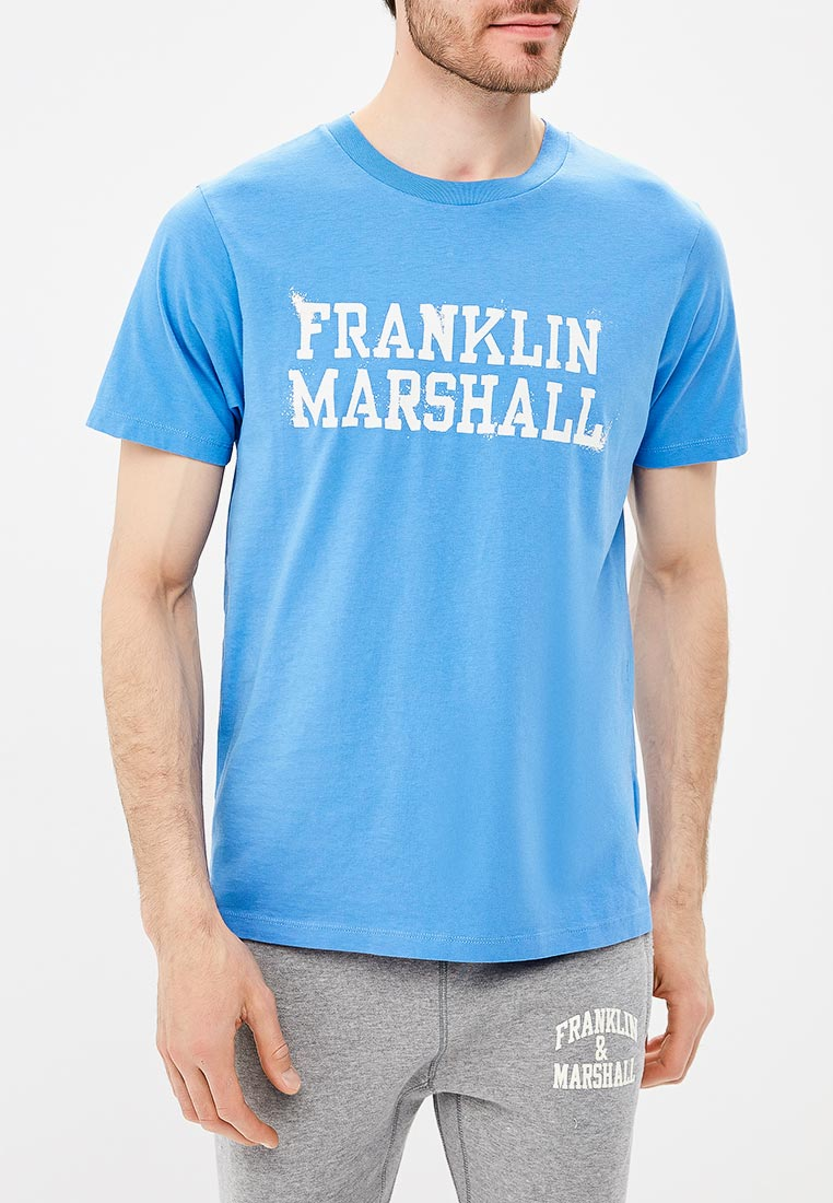 Футболка с коротким рукавом Franklin & Marshall TSMF364AN