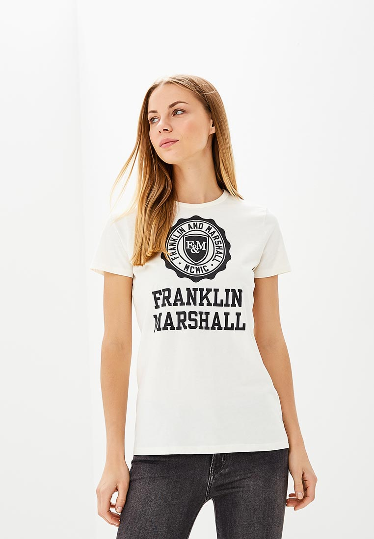 Футболка с коротким рукавом Franklin & Marshall TSWF586AN