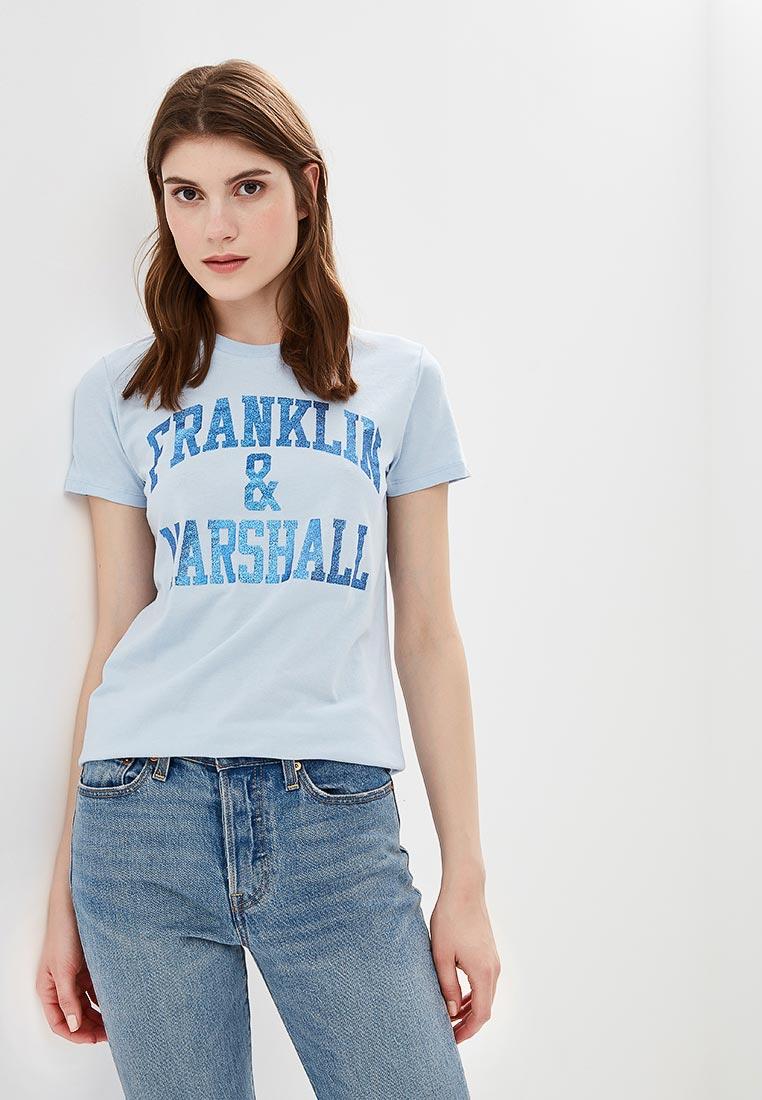 Футболка с коротким рукавом Franklin & Marshall TSWF592AN