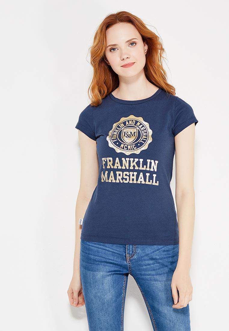 Футболка с коротким рукавом Franklin & Marshall TSWVA638W15