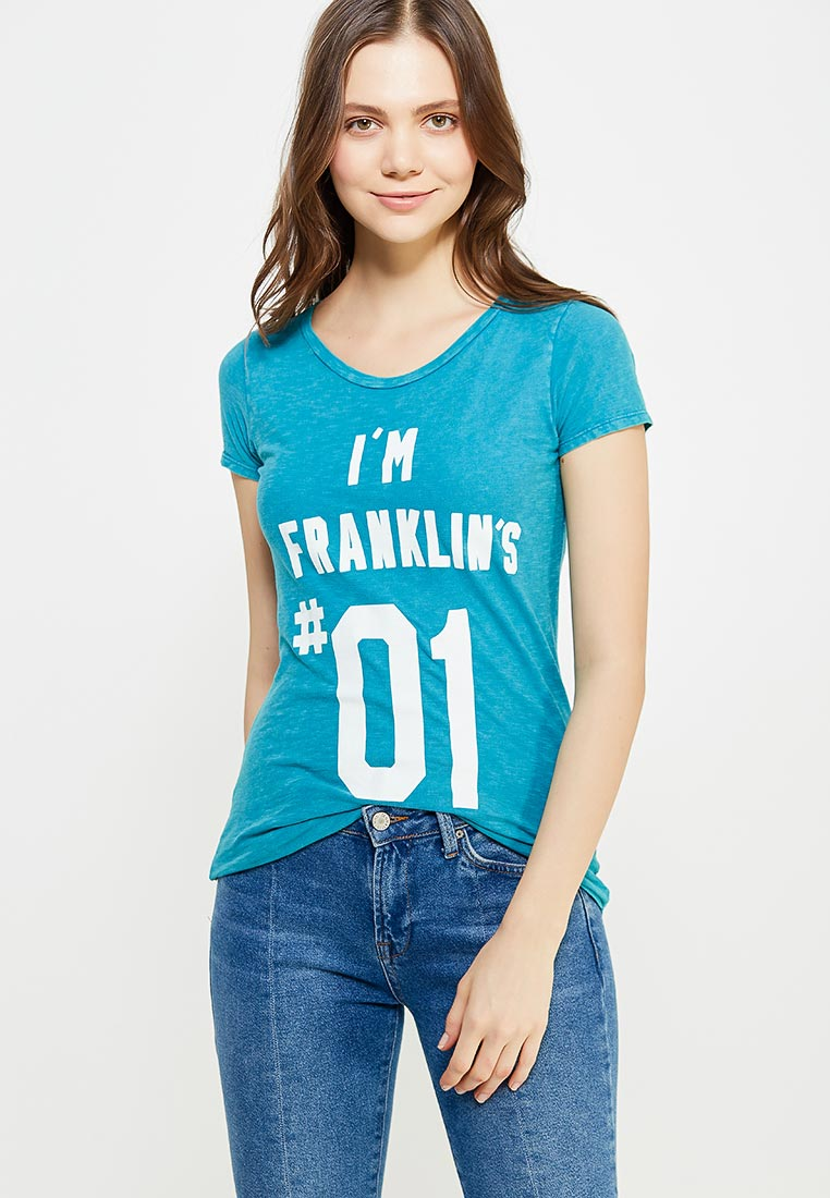 Футболка с коротким рукавом Franklin & Marshall TSWVA646S15