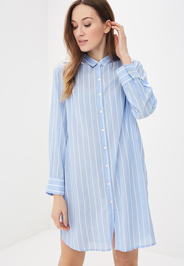 8651d2a4f4539 Платье женское Gap 215272 цвет голубой купить за 1840 руб.