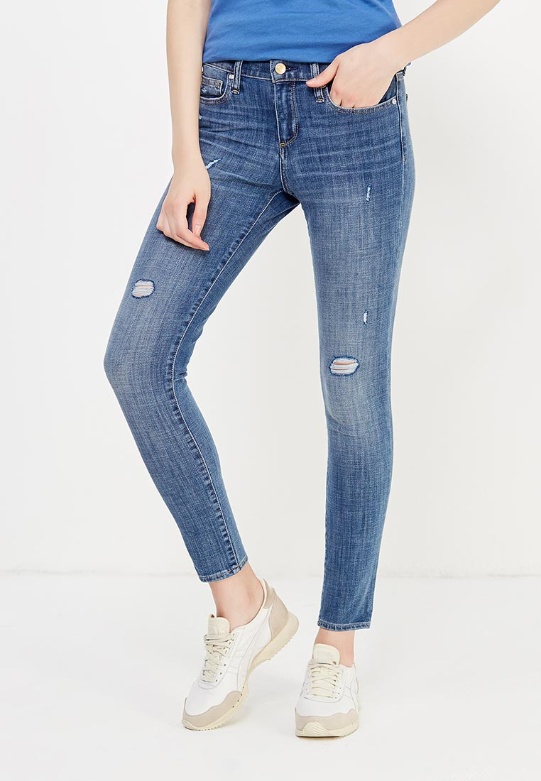 Зауженные джинсы Gap 850326