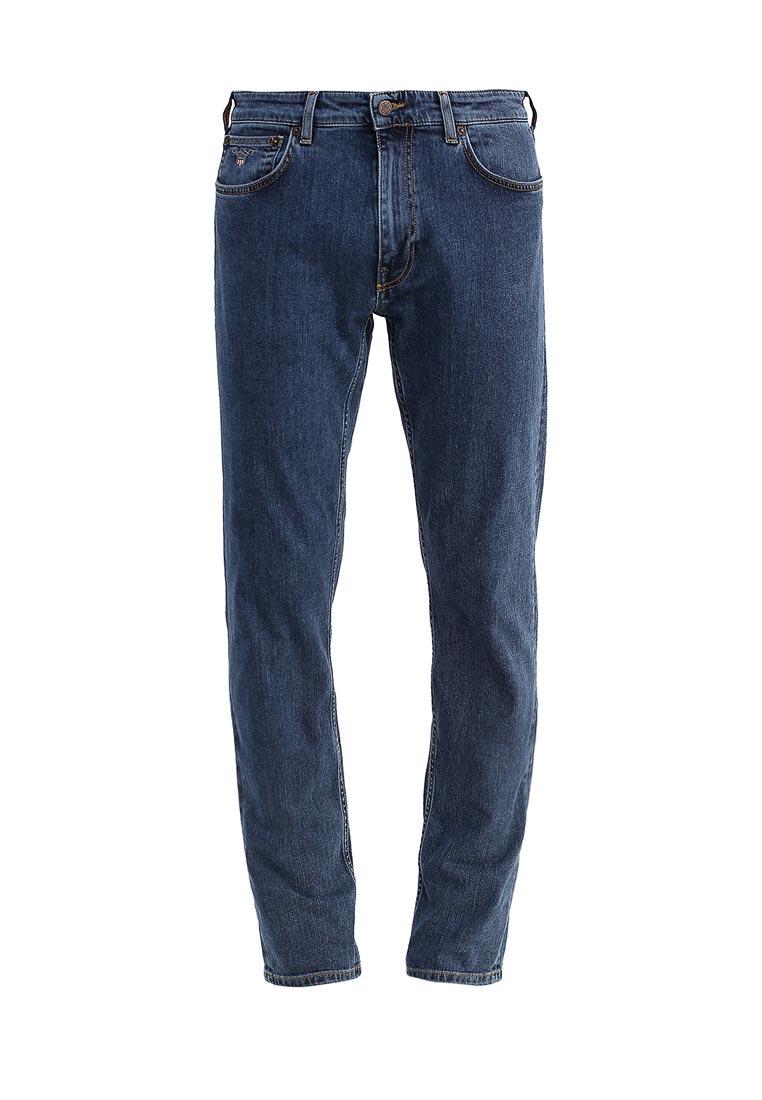 Мужские прямые джинсы Gant 1033009