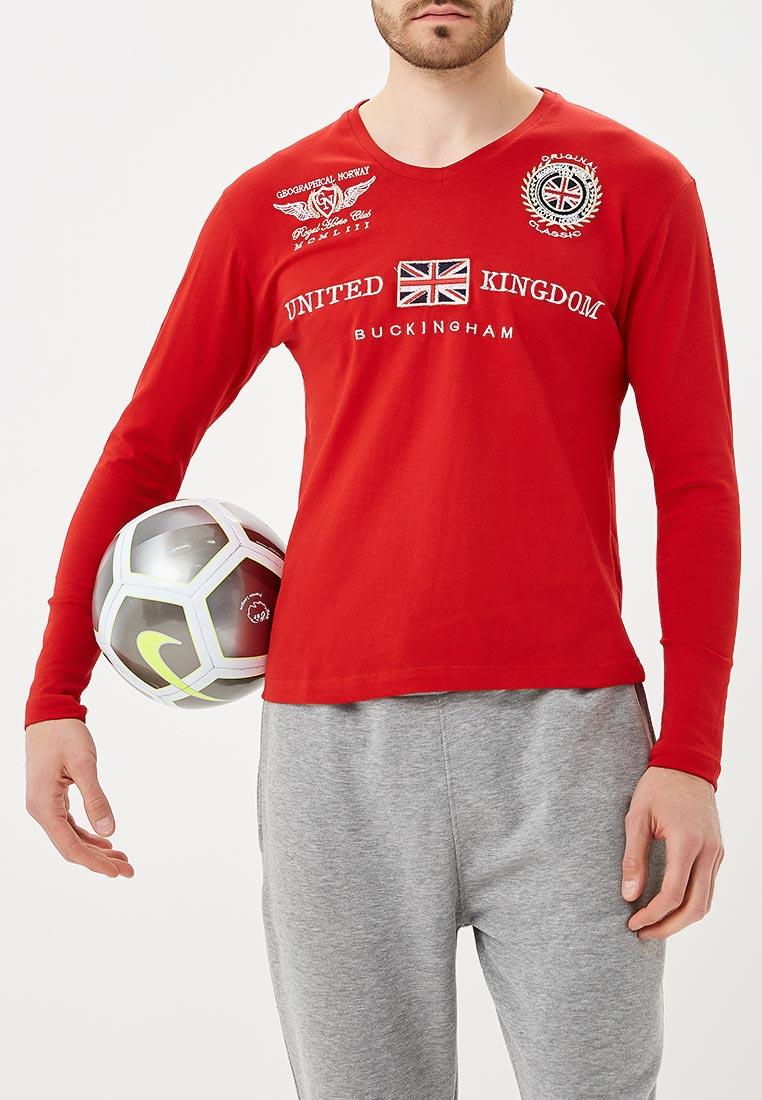 Футболка с длинным рукавом Geographical Norway JACROCHE LS MEN 100