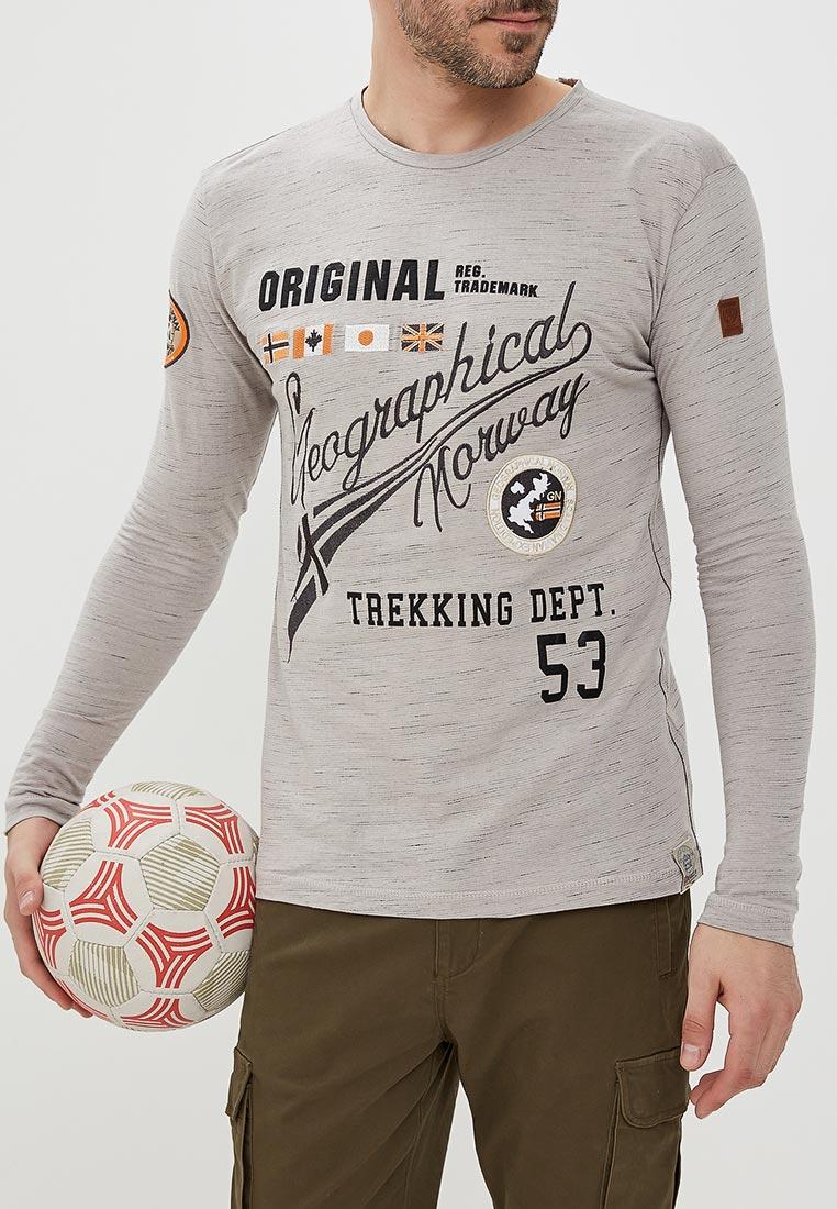 Футболка с длинным рукавом Geographical norway JOLIDAY LS MEN 100