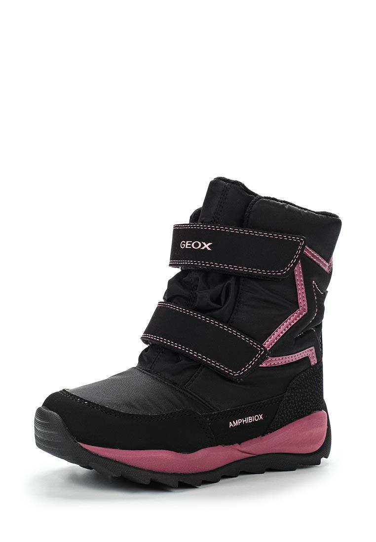 Ботинки для девочек Geox J742BA0FU50C9999