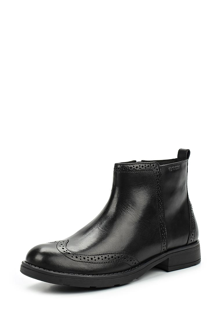 Ботинки для девочек Geox J74D3F00043C9999
