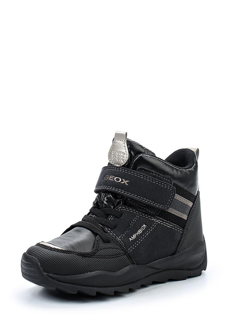 Ботинки для девочек Geox J742BE0FUAUC9999