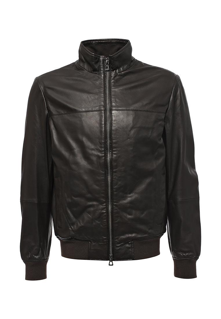 Кожаная куртка Geox M7422AT2437F6025: изображение 1