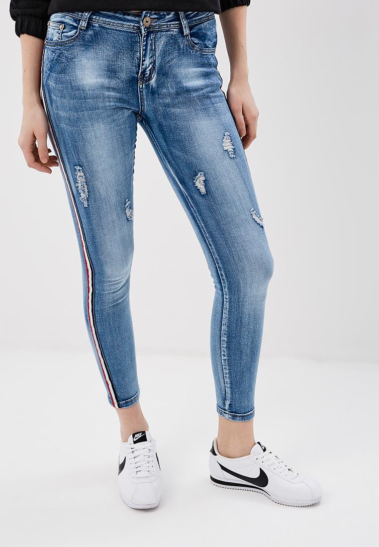 Зауженные джинсы G&G B014-T075