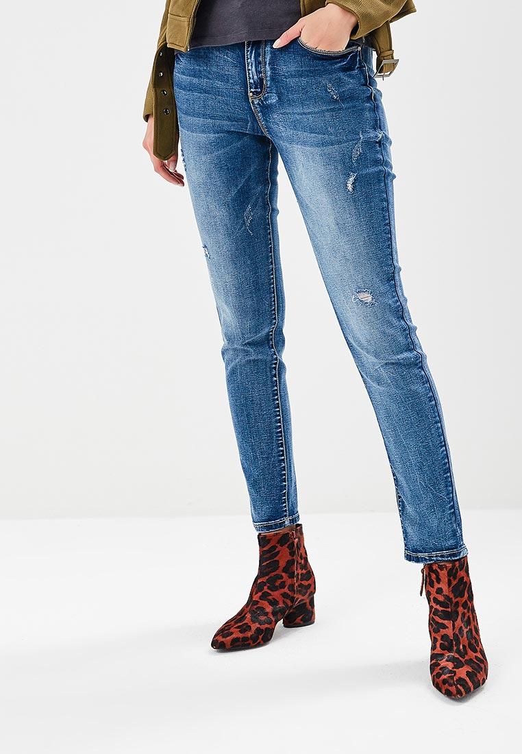 Зауженные джинсы G&G B014-W003