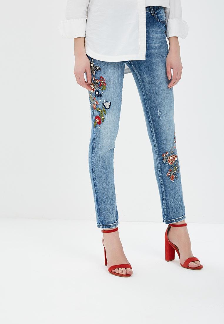 Зауженные джинсы G&G B014-T083
