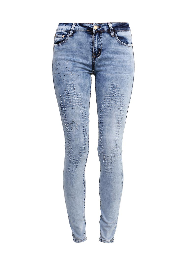 Зауженные джинсы G&G B014-F001