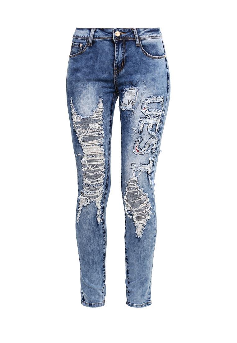 Зауженные джинсы G&G B014-F005
